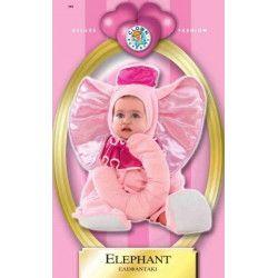 Déguisement éléphant rose baby 12 mois Déguisements 8612