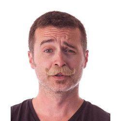 Moustache classy marron Accessoires de fête 862200BR