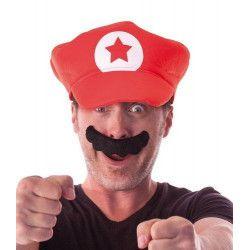 Moustache plombier adulte Accessoires de fête 862202