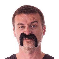 Moustache Watson noire Accessoires de fête 862204B