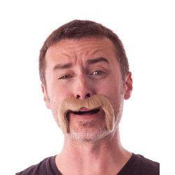 Moustache Watson marron Accessoires de fête 862204BR