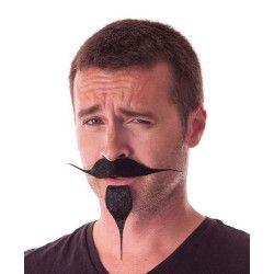 Accessoires de fête, Moustache et bouc de pirate, 862209, 2,50€