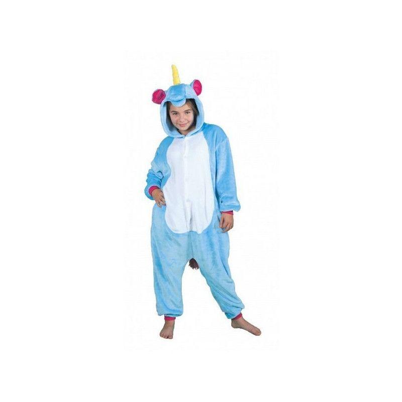 Déguisement Kigurumi licorne bleue enfant 11-14 ans Déguisements 862300M