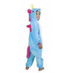 Déguisement Kigurumi licorne bleue enfant 7-9 ans Déguisements 862300S