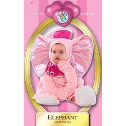 Déguisement éléphant rose baby 24 mois Déguisements 8624-