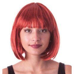 Perruque cabaret rousse Accessoires de fête 86263