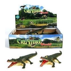 Animal Crocodile en PVC Jouets et articles kermesse 12567-UNITE