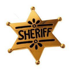 Etoile de sheriff western Accessoires de fête 865005