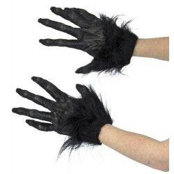 Gants de loup garou adulte Accessoires de fête 86509
