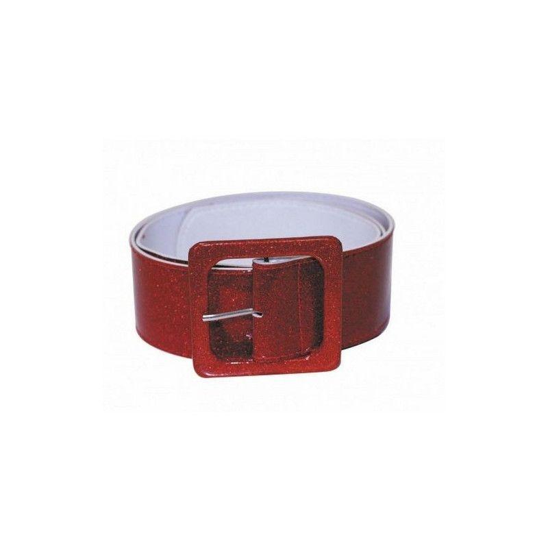Accessoires de fête, Ceinture disco rouge, 865090405, 4,50€