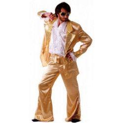Déguisement disco forever or homme taille M-L Déguisements 865091812