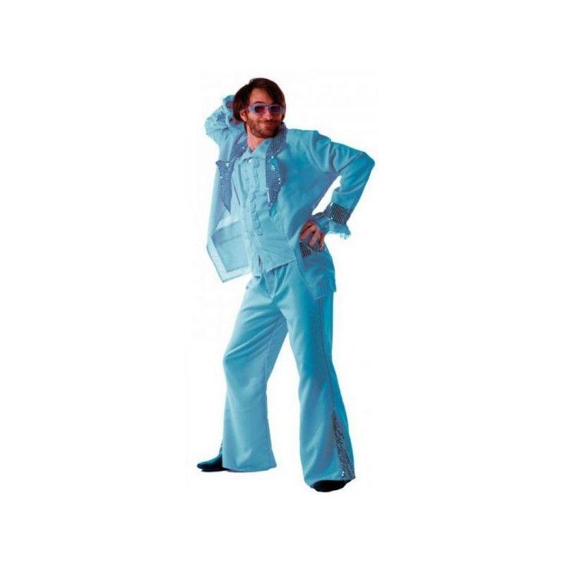 Déguisements, Déguisement disco forever turquoise homme M-L, 865091815, 34,90€