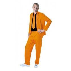 Déguisement fashion néon orange homme taille M-L Déguisements 865091818