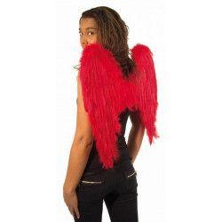 Accessoires de fête, Ailes d'ange rouges 50 x 50 cm, 865093205, 7,50€