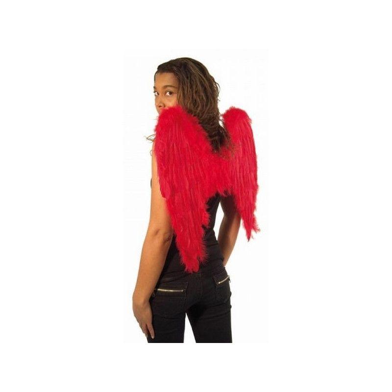 Ailes d'ange rouges 50 x 50 cm Accessoires de fête 865093205