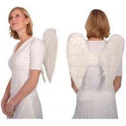 Ailes d'ange blanches 50 x 50 cm Accessoires de fête 865093206