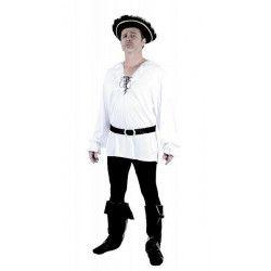 Set chemise et ceinture pirate homme taille M-L Déguisements 865149
