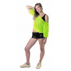 Déguisements, Déguisement tee-shirt fish net vert fluo, 865390, 12,90€