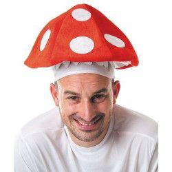 Chapeau champignon Accessoires de fête 86548