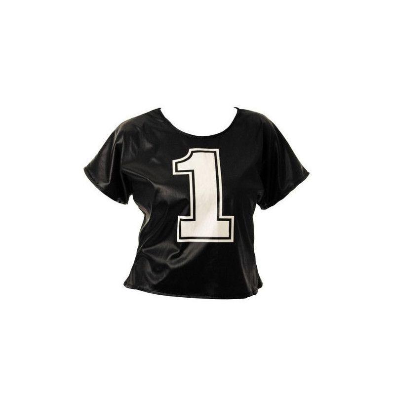 Déguisements, Déguisement tee-shirt pompom girl adulte, 86549, 7,50€