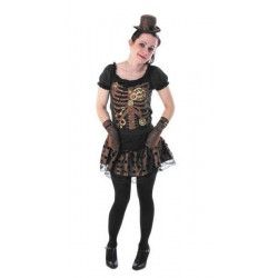Déguisement Miss Squelette mécanique ado taille S Déguisements 8655002