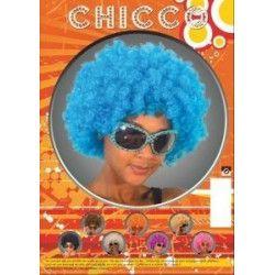 Accessoires de fête, Perruque chicco turquoise mixte, 865515, 6,90€