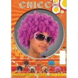 Perruque chicco violette mixte Accessoires de fête 865516