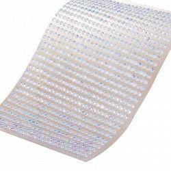 Déco festive, Demi-perle transparente à coller, 12730, 1,75€