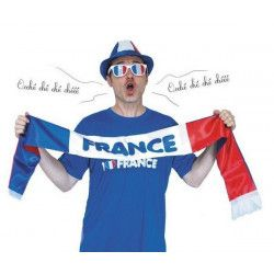 Accessoires de fête, Echarpe supporter France, 87105, 4,80€