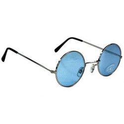 Accessoires de fête, Lunettes hippie bleues, 871120, 1,95€