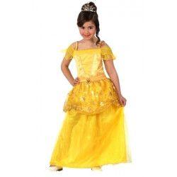 Déguisement belle princesse jaune fille 3-4 ans Déguisements 12754