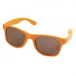 Lunettes oranges fluo Accessoires de fête 87118207