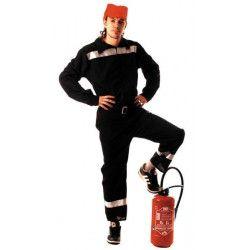 Déguisement pompier français homme taille M-L Déguisements 871202