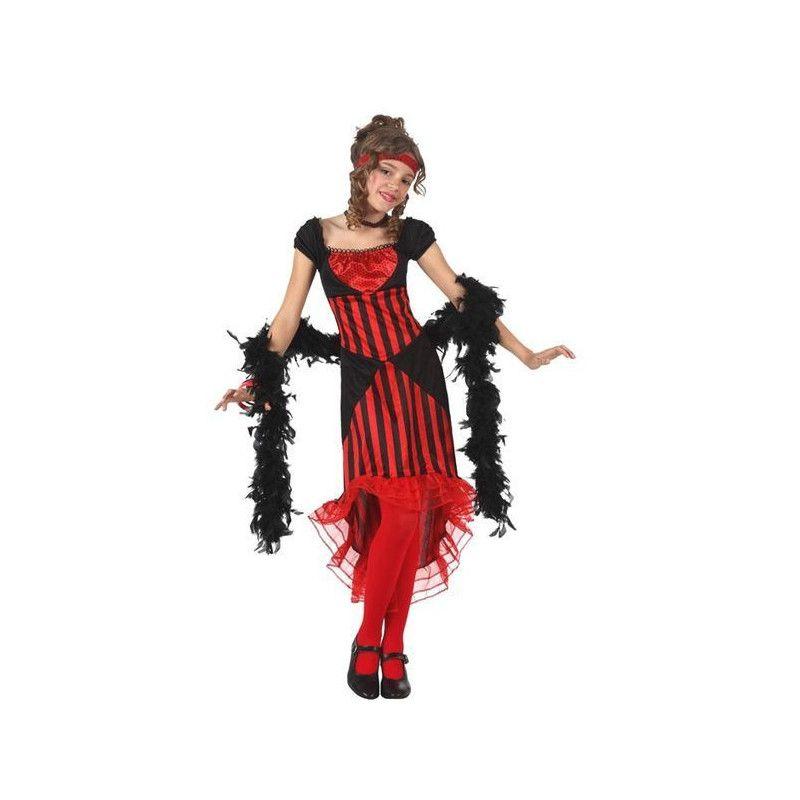 Déguisement danseuse de cabaret enfant 3-4 ans Déguisements 12762