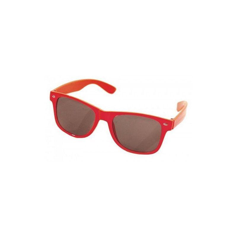 Lunettes blues rouges fluo Accessoires de fête 87120505