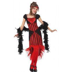 Déguisements, Déguisement de danseuse de cabaret enfant 7-9 ans, 12764, 22,90€