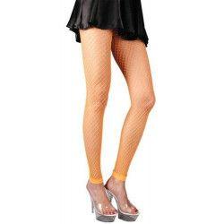 Leggings orange fluo femme Accessoires de fête 87270122