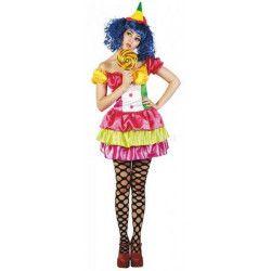 Déguisement clownette bonbon femme taille M Déguisements 87283780