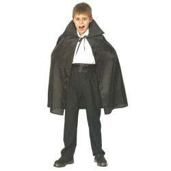 Déguisements, Cape vampire noire enfant 75 cm, 87288677, 6,95€