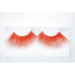 Faux cils jumbo rouges Accessoires de fête 87307705