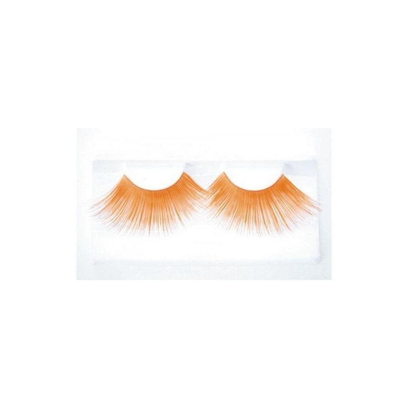 Faux cils jumbo orange Accessoires de fête 87307707