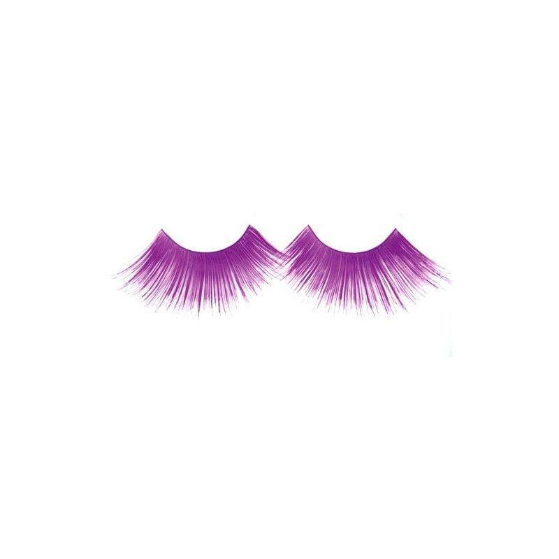 Faux cils jumbo violet Accessoires de fête 87307716