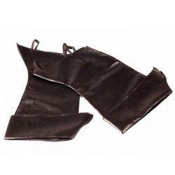 Surbottes noires avec rabat Accessoires de fête 873101