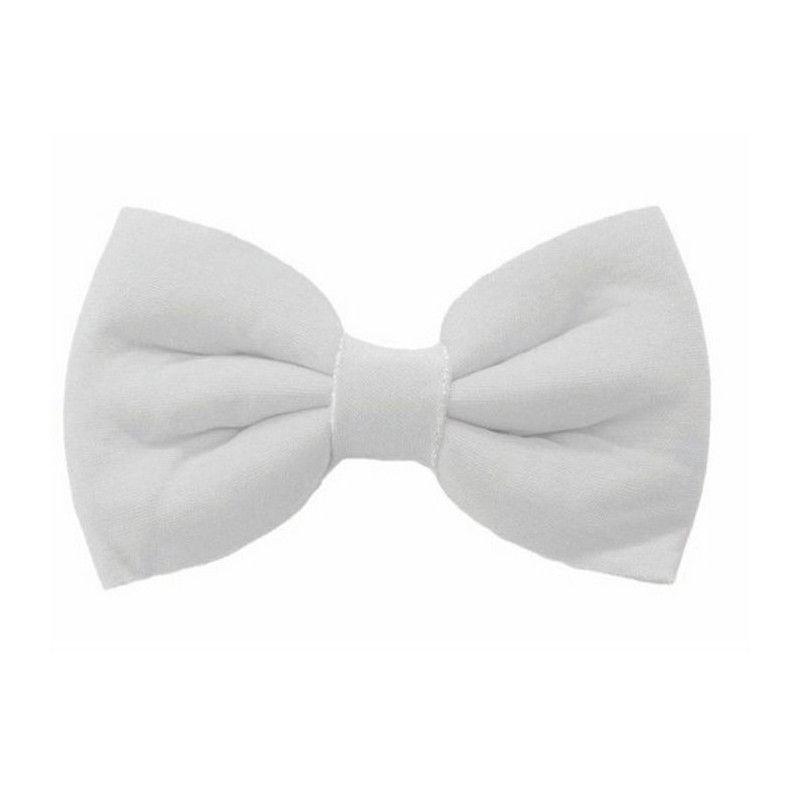 Noeud papillon blanc Accessoires de fête 87310706