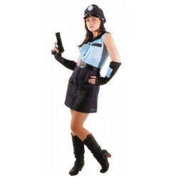 Déguisements, Costume policière sexy adulte, 873133, 22,50€