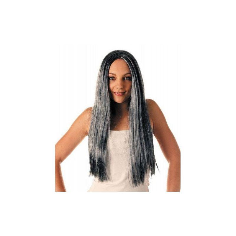 Perruque sorcière cheveux gris Accessoires de fête 873163