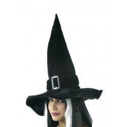Chapeau sorcière avec boucle Accessoires de fête 873166