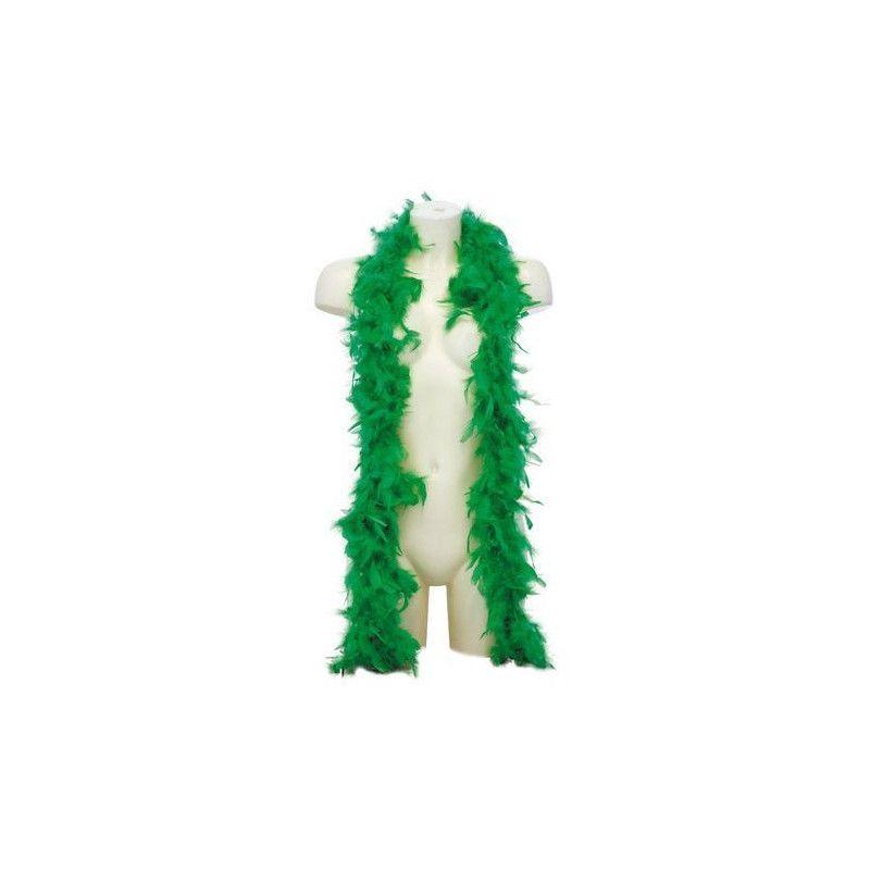 Boa plumes vertes 1.80 m 45 grs Accessoires de fête 873247