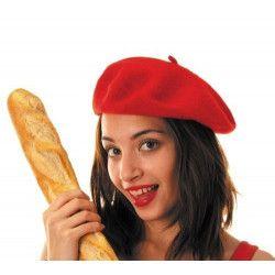Bérêt basque rouge Accessoires de fête 8735