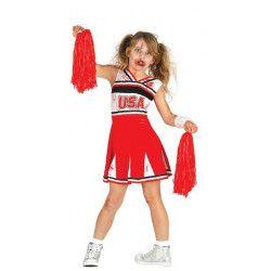 Déguisement pompom girl zombie fille 7-9 ans Déguisements 87356
